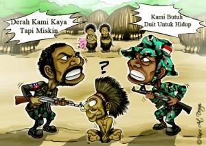Kekerasan Militer Papua