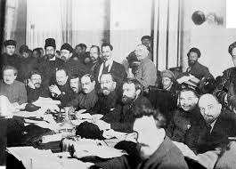 Bolshevik meeting