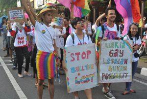 Aksi Pro LGBT