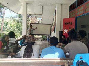 Diskusi KNPB Trikora