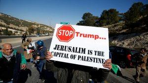 Stop Trump Jerusalem